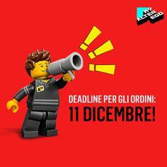 Hai deciso di regalare un MyEgo Toys e vuoi essere sicuro di averlo entro Natale? Effettua il tuo ordine entro l'11 dicembre e lo riceverai per tempo! 👍 Per tutti gli ordini pervenuti dopo l'11 dicembre, le minaiture verranno spediti dopo il 7 gennaio 2018.