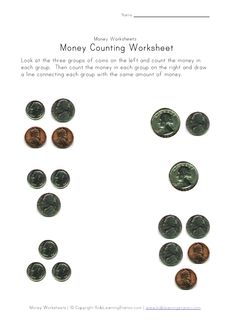 matching coin to value assessment classroom math pinterest coins assessment and. Black Bedroom Furniture Sets. Home Design Ideas