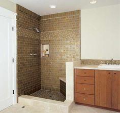73 Marvelous Ceramic Tile Designs For Bathrooms Ideas #BathroomsIdeas #CeramicTile
