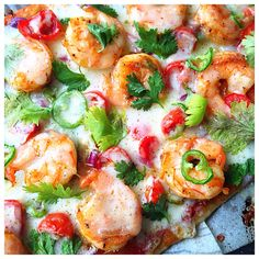 CAJUN SHRIMP THIN CRUST PIZZA (NEW ORLEANS INSPIRED) – MY DIGITAL KITCHEN