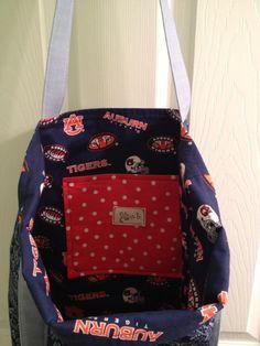 Bag I made for Kara! WAR EAGLE!