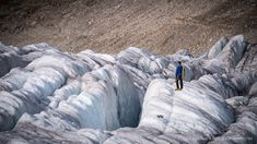 Aletsch Galcier in the Swiss Alps This huge river of ice that stretches over 23 km from its formation in the Jungfrau region . Outdoor Photography, Fine Art Photography, Interior Styling, Interior Decorating, Jungfraujoch, Swiss Alps, Climate Change, Switzerland, Stretches