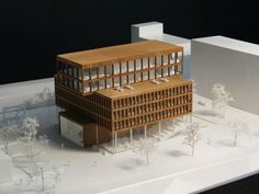 Multi-Functional Headquarters of Edel AG Competition Entry / Barcode Architects & Habiter Autrement