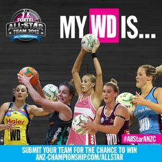 ALL-STAR TEAM IN FOCUS - WING DEFENCE Netball, Fox Sports, All Star, Basketball, Star