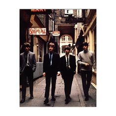 An image of The Beatles ❤ liked on Polyvore featuring pictures, the beatles and beatles