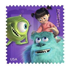 Monsters, Inc. Forever Stamp