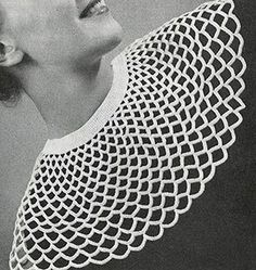 French Collar by Free Vintage Crochet