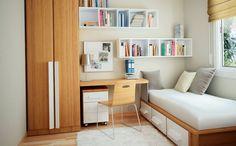 Dormitorio infantil pequeño de estilo clásico