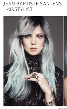 I just found some grey hairs!!! BUT if my hair can be turned into this then im on a winner Grey hair color