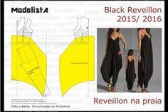 A3 NUMo 0171 DRESS - BLACK REVEILLON