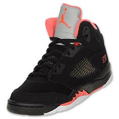 High Top Jordan's for Girls | 10. Nike Girls Air Jordan 5 Retro