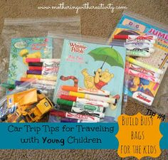 Mothering with Creativity: Car Trip Tips for Traveling with Young Children