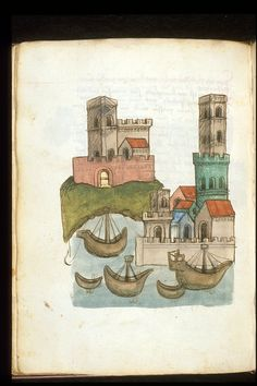 Account of a journey from Venice to Palestine, Mount Sinai and Egypt OriginGermany, S. (Passau?) Datec. 1467 LanguageGerman