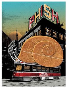 Phish poster - Pat Hamou