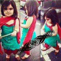 Salwar suit for baby girl