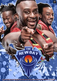 The new day ❤️❤️❤️ Wrestling Quotes, Wrestling Stars, Wrestling Wwe, The New Day Wwe, Wwe Entertainment, Wwe Raw And Smackdown, Wwe Royal Rumble, Wwe T Shirts, Catch
