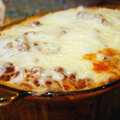 Quick and Easy Thrown Together Baked Spaghetti Casserole Recipe