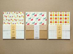 Patterned Mail Kits