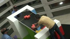 Tetris analógico // Analogical Tetris [codeco] on Vimeo Guerilla Marketing, Event Marketing, Marketing Digital, Museum Exhibition Design, Exhibition Space, Exhibition Ideas, Interactive Activities, Creative Activities, Tetris