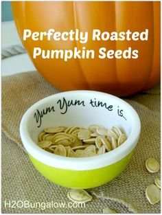How to Make the Best Roasted Pumpkin Seeds: Recipe Comparison.  Sweet and savory  recipes included.