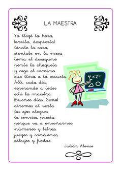 Poesias infantiles Bilingual Classroom, Self Help, Spanish, Coding, Teacher, Journal, Education, School, Books