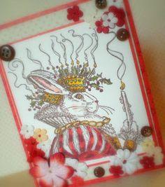 Rabbity card
