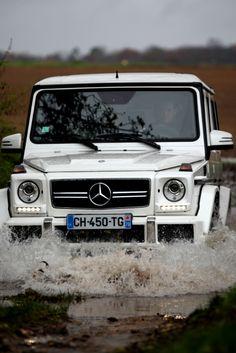 Mercedes-Benz G-class 63 AMG