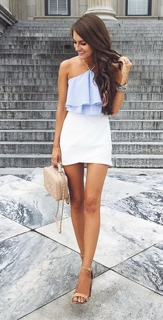 @cmcoving Lately all I want to wear is blue & white My entire outfit is from Zara