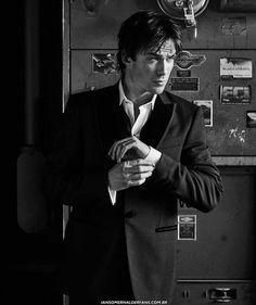 Ian Somerhalder - on the cover of modernluxury The Vampire Diaries, Damon Salvatore Vampire Diaries, Ian Somerhalder Vampire Diaries, Vampire Diaries Wallpaper, Vampire Dairies, Vampire Diaries The Originals, Stefan Salvatore, Paul Wesley, Delena