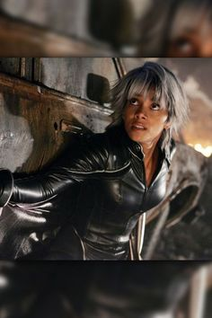 Storm    Halle Berry played Storm in the X-Men film series.