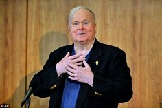 'I have recently been diagnosed with pancreatic cancer': Author Pat Conroy, 70,who wrote The Prince of Tides and The Great Santini, made the announcement Monday on his Facebook page