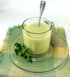 Irish Celery and Apple Soup - Becky's Recipes for Home