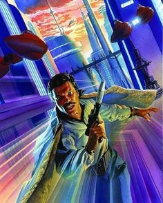 """Lando in Cloud City by Alex Ross #lucca #luccacomics #amdrawing #ampainting #art #fineart…"""""""