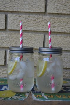 Mason Jar Drink Glasses