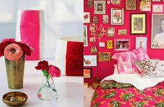 sweet colorful room