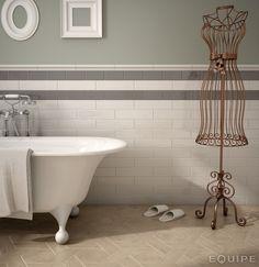 Cottage Dark & Light Grey   Tile pattern; Equipe Cottage Tile