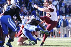 Games are won down in the trenches! 2014.11.15. VT at Duke.