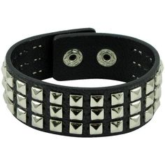 Studded Snap Bracelet - Black ($4.20) ❤ liked on Polyvore featuring jewelry, bracelets, accessories, pulseiras, jewels, snap button jewelry, vegan jewelry, chains jewelry, snap jewelry and studded jewelry