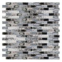 Blue Twilight Brick Glass .5 x 1 in