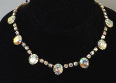 Wonderful Weiss Aurora Borealis Rhinestone by Aged2PerfectionShop