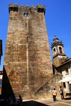 Braga, Torre do Castelo  Portugal