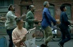 Indian Railways Human Train advert