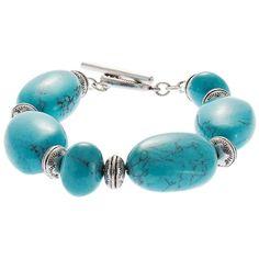 LAUREN RALPH LAUREN Turquoise Stone Bracelet