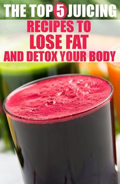 TOP 5 JUICING RECIPES TO LOSE FAT AND DETOX YOUR BODY ~ HASS FITNESS