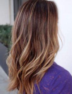Sombré sur cheveux longs