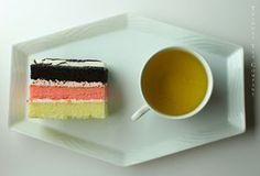 Perfection. Neopolitan cake recipe