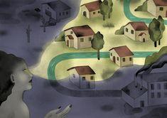 Illustrazione in acquerello con colorazione digitale, sul tema dell'ecologia. #nature #illustration #pollution #climate change New Words, Change, Illustration, Painting, Art, Art Background, Painting Art, Kunst, Paintings