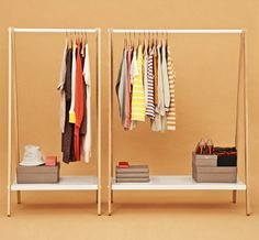 Toj - clothing rack.
