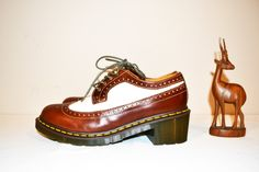 Vintage Dr. Martens Chunky Shoes by CheekyVintageCloset on Etsy
