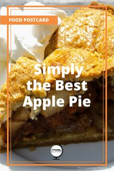 On the southern corner of the Noordermarkt square in Amsterdam, the Netherlands, is an apple pie that may even taste better than the one your grandmother bakes. It's a bold statement but when the flavour of a buttery crust paired with thick-cut autumn apples, their taste perfectly balanced between tart and sweet and delicately spiced with cinnamon, rolls across your tongue, you'll realise that it's true.